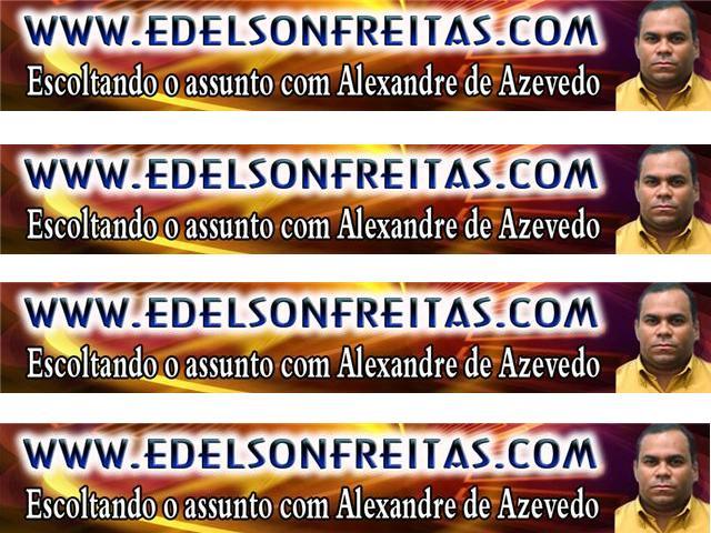 ESCOLTANDO O ASSUNTO COM ALEXANDRE DE AZEVEDO!