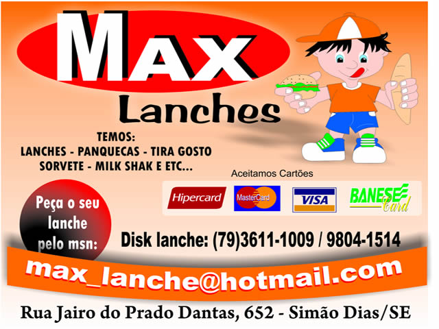 MAX LANCHES!