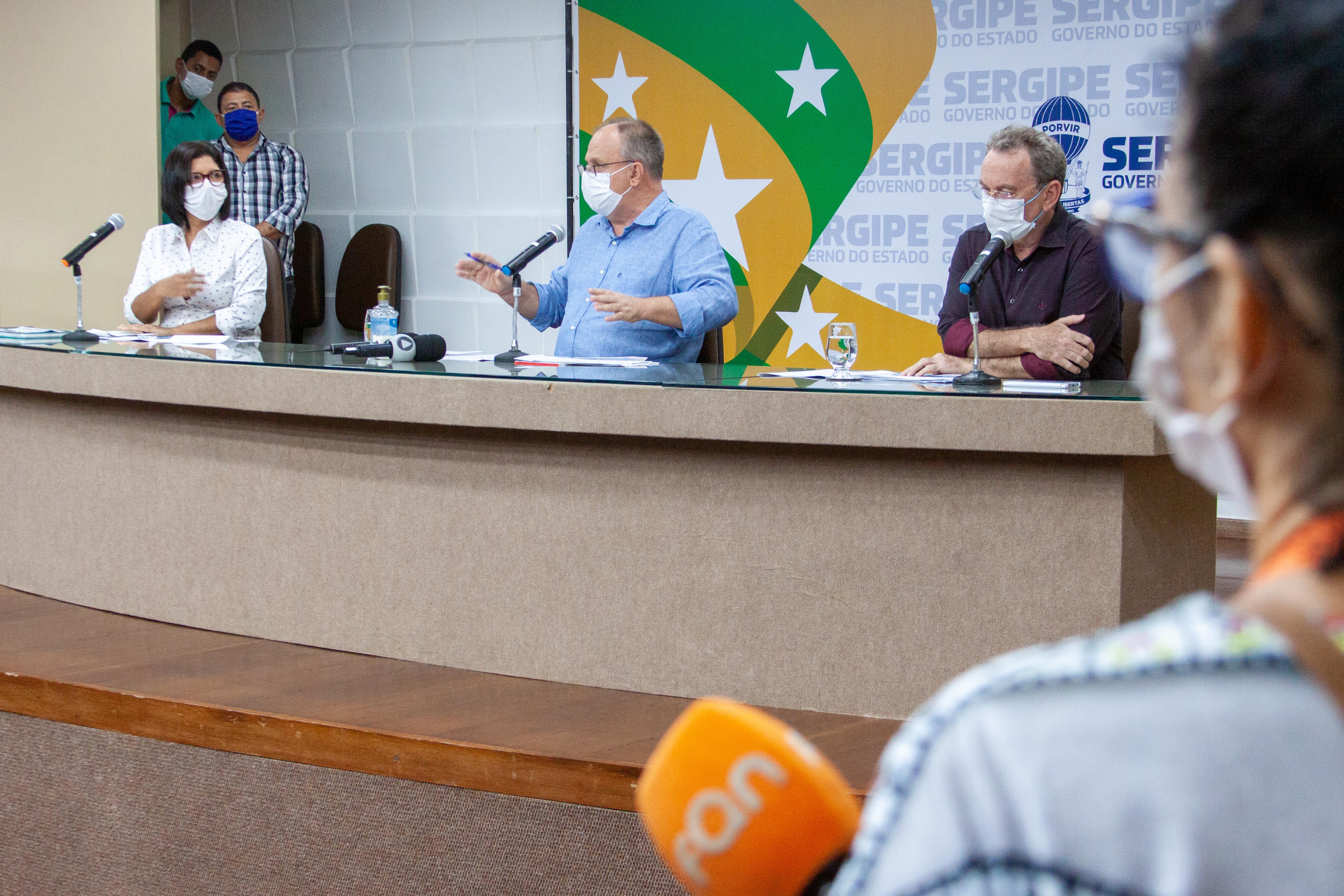 CORONAVÍRUS: GOVERNO DE SERGIPE DETERMINA OBRIGATORIEDADE DO USO DE MÁSCARA