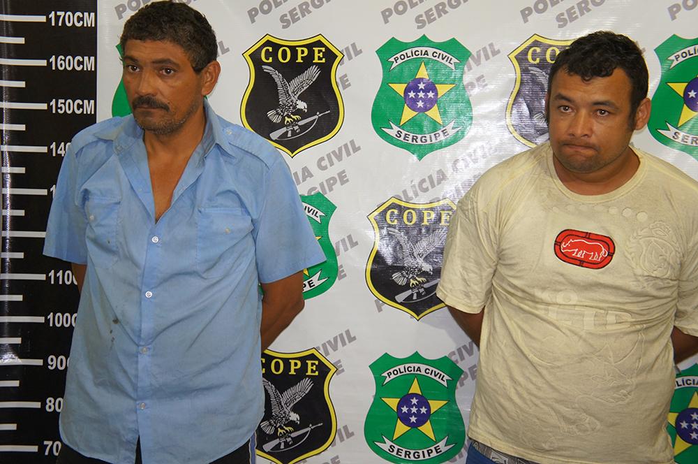 POLÍCIA CIVIL DE SERGIPE PRENDE TRAFICANTES DE SÃO PAULO COM 10 QUILOS DE CRACK
