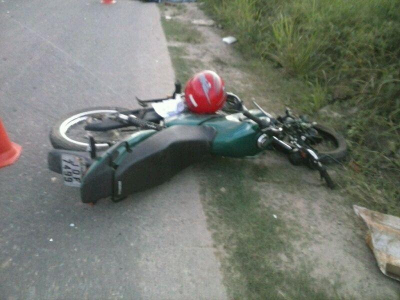 ACIDENTE NA SAÍDA DE SIMÃO DIAS DEIXA MOTOCICLISTA MORTO