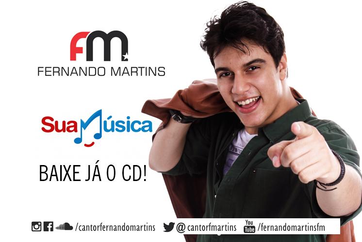 FERNANDO MARTINS LANÇA SEU PRIMEIRO CD! OUÇA