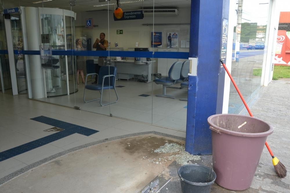 POLÍCIA FEDERAL DESATIVA EXPLOSIVO DEIXADO DENTRO DE BANCO EM SERGIPE
