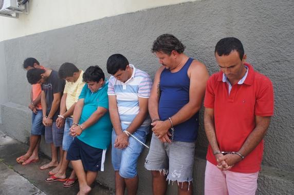POLÍCIA CIVIL PRENDE QUADRILHA DE RECEPTADORES DE CARGAS ROUBADAS E SERGIPE E BAHIA