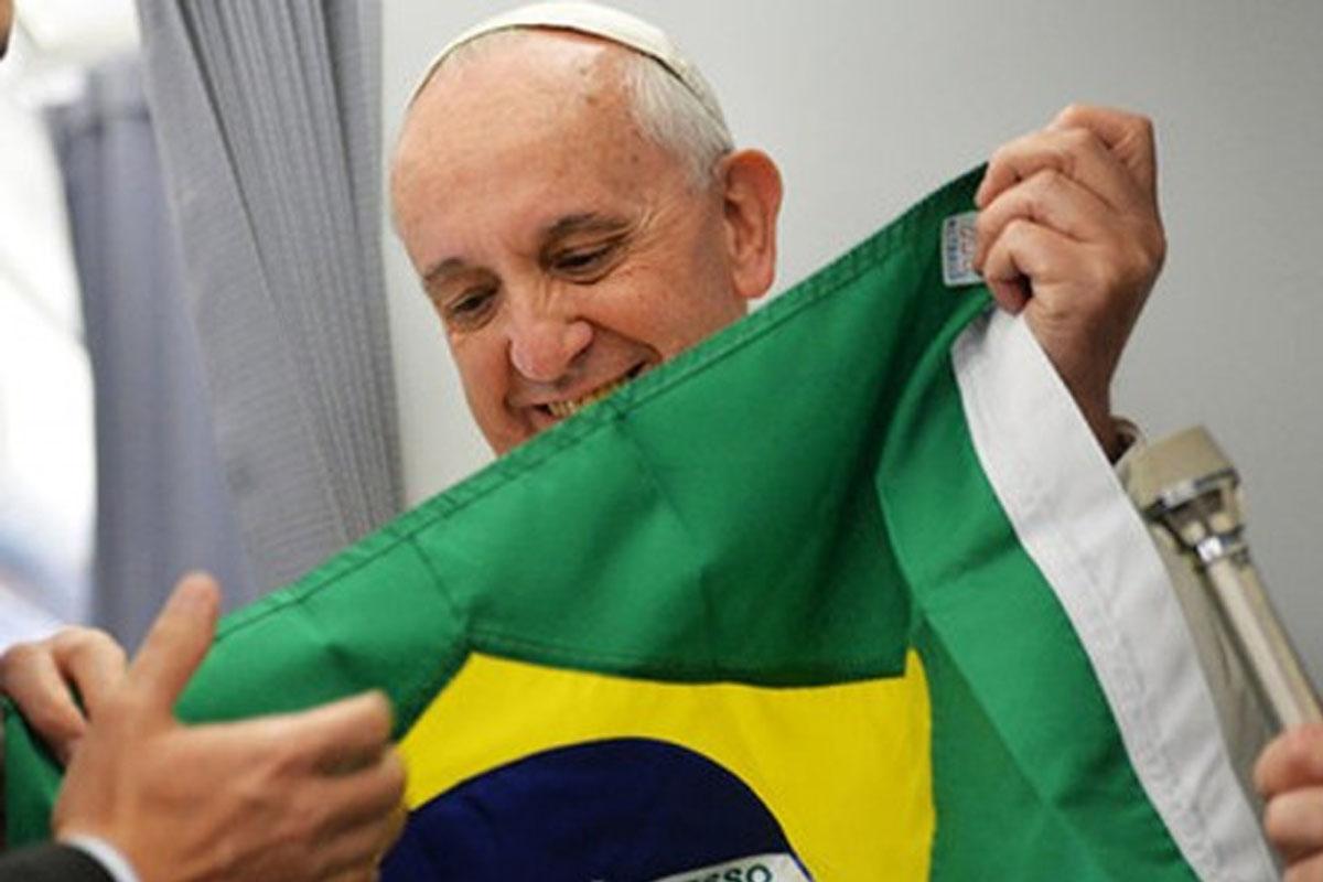 Resultado de imagem para PAPA NO BRASIL