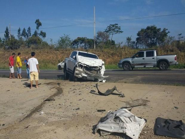 ACIDENTE NA BR-101 MATA VEREADORA ELEITA E MAIS QUATRO PESSOAS
