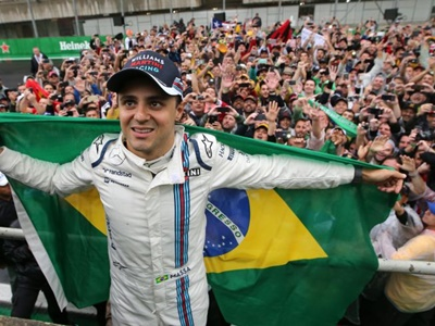 MASSA ASSINA COM WILLIAMS E PERMANECE NA FORMULA 1 EM 2017