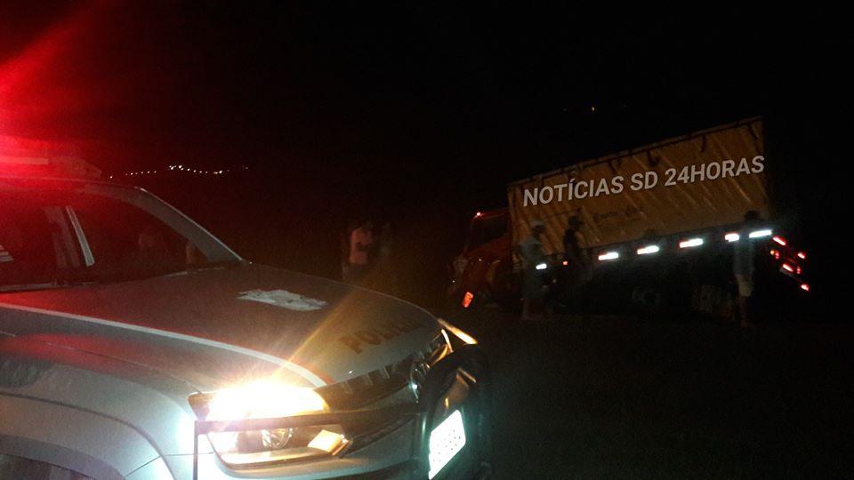 VEÍCULOS SE CHOCAM NA ENTRADA DA CIDADE DE SIMÃO DIAS