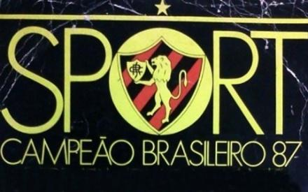 SPORT É CONSIDERADO CAMPEÃO BRASILEIRO DE 1987