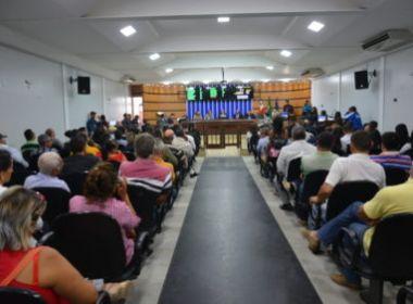 NO INTERIOR DA BAHIA, CÂMARA APROVA 13º SALÁRIO E FÉRIAS PARA PREFEITO, VICE-PREFEITO E VEREADORES