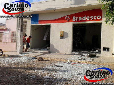 BANDIDOS EXPLODEM AGÊNCIA EM SÍTIO DO QUINTO/BA E CIDADE FICA SEM SERVIÇO BANCÁRIO