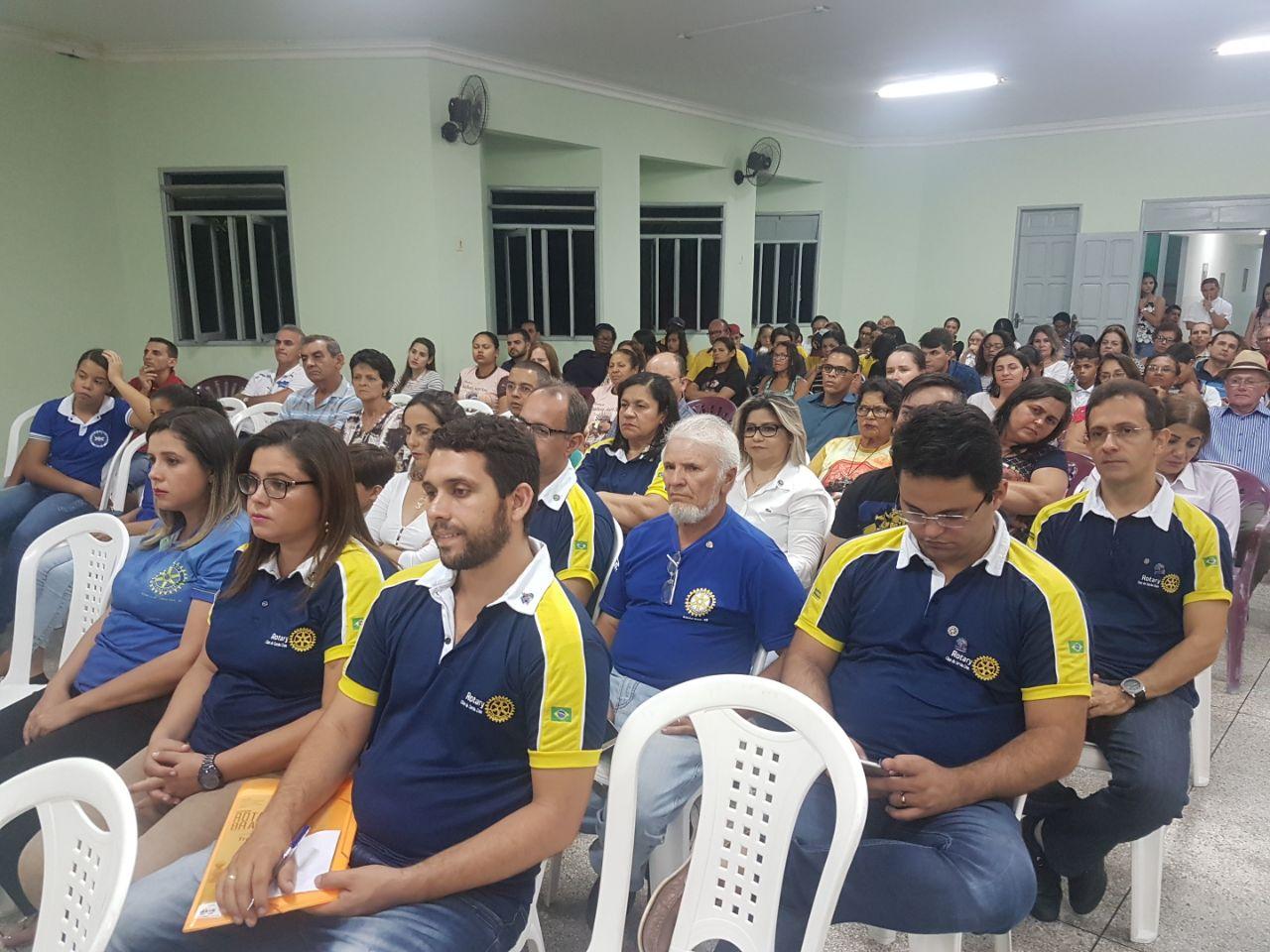 ROTARY CLUB DE SIMÃO DIAS PARTICIPA DE IMPORTANTE ATO DE REFLEXÃO PROMOVIDO PELA PARÓQUIA