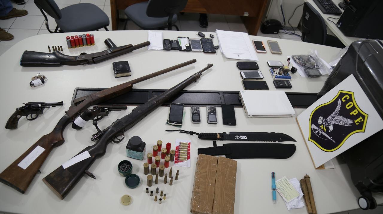 SSP DETALHA DESARTICULAÇÃO DE ORGANIZAÇÃO CRIMINOSA RESPONSÁVEL PELO HOMICÍDIO DO CAPITÃO OLIVEIRA
