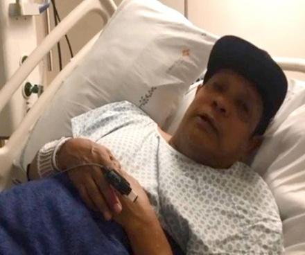 SBT: LIMINHA SE EMOCIONA AO GRAVAR VÍDEO NO HOSPITAL E FALA COM DIFICULDADES