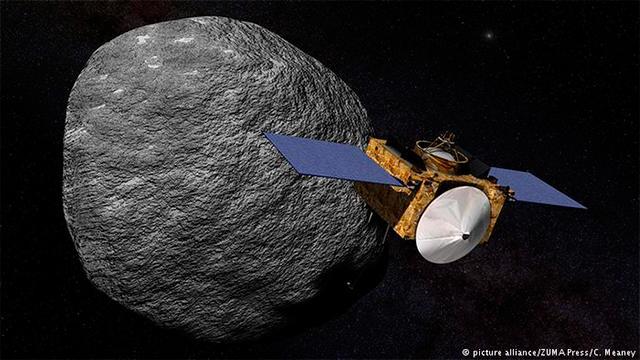 NASA: APÓS DOIS ANOS, SONDA ESPACIAL CHEGA A ASTEROIDE QUE AMEAÇA COLIDIR COM A TERRA
