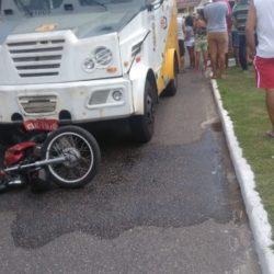 ACIDENTE: MOTOCICLISTA MORRE APÓS COLIDIR COM CARRO FORTE