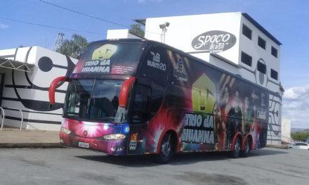 BAHIA: ÔNIBUS DE BANDA É ASSALTADO NA BR-101