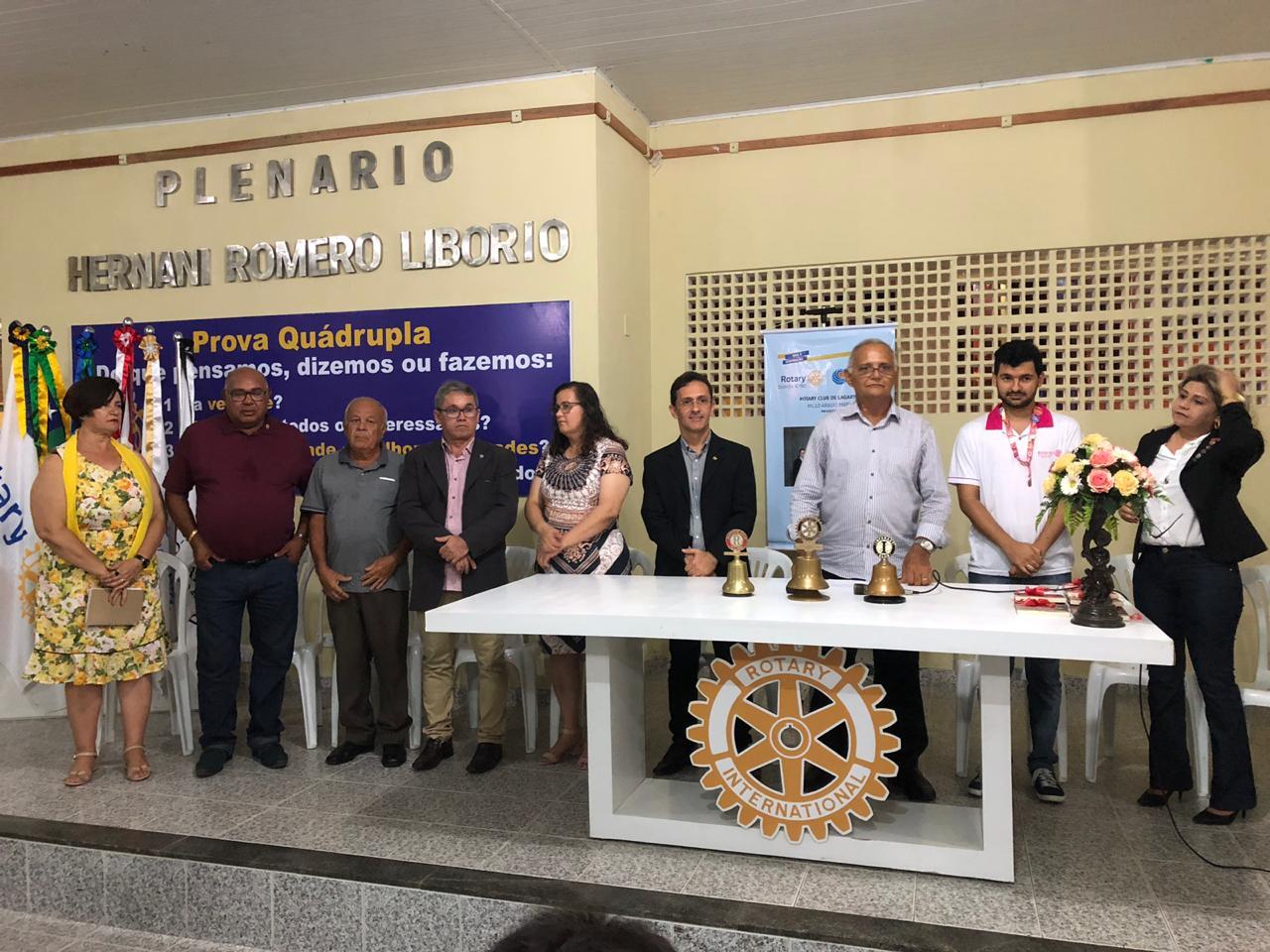 SIMÃO DIAS: ROTARY PARTICIPA DE ENCONTRO DE CLUBES EM LAGARTO