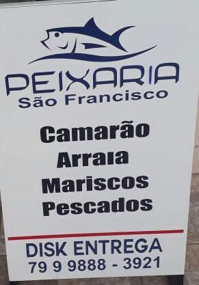 PEIXARIA SÃO FRANCISCO! DISK – ENTREGA: 9 9888 – 3921