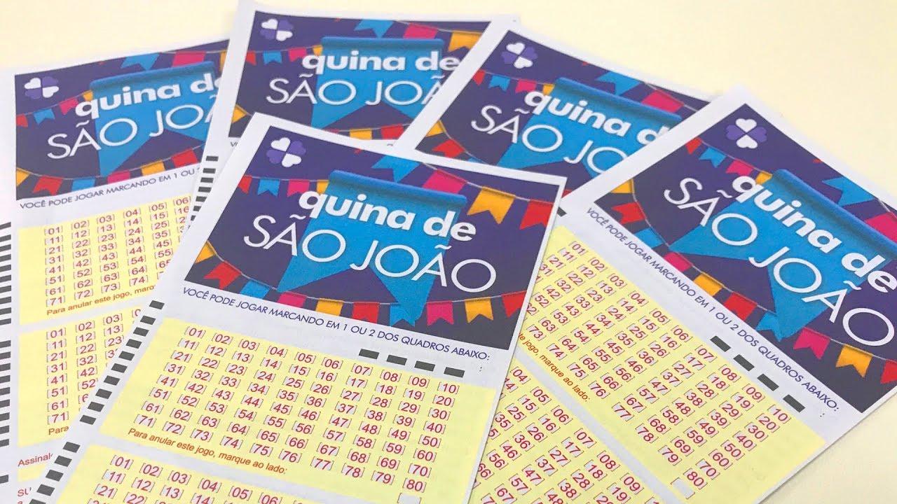 QUINA DE SÃO JOÃO: NINGUÉM ACERTA E BOLADA DE R$ 143 MILHÕES É DIVIDIDA COM GANHADORES DA QUADRA