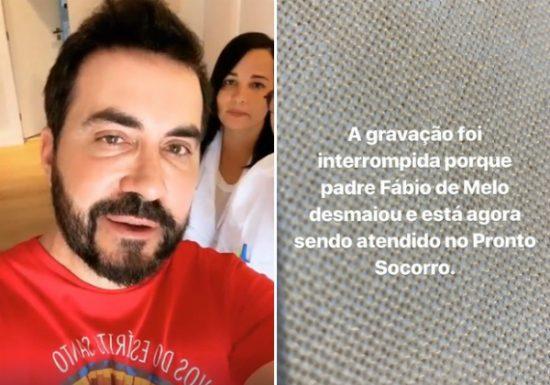 PADRE FÁBIO DE MELO: APÓS DESMAIO É LEVADO ÀS PRESSAS A PRONTO SOCORRO