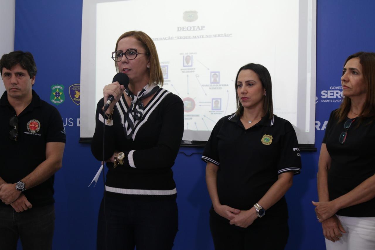 """SERGIPE: OPERAÇÃO """"XEQUE MATE NO SERTÃO"""", POLÍCIA CIVIL PRENDE DOIS EX-PREFEITOS DE CARIRA (PAI E FILHO)"""