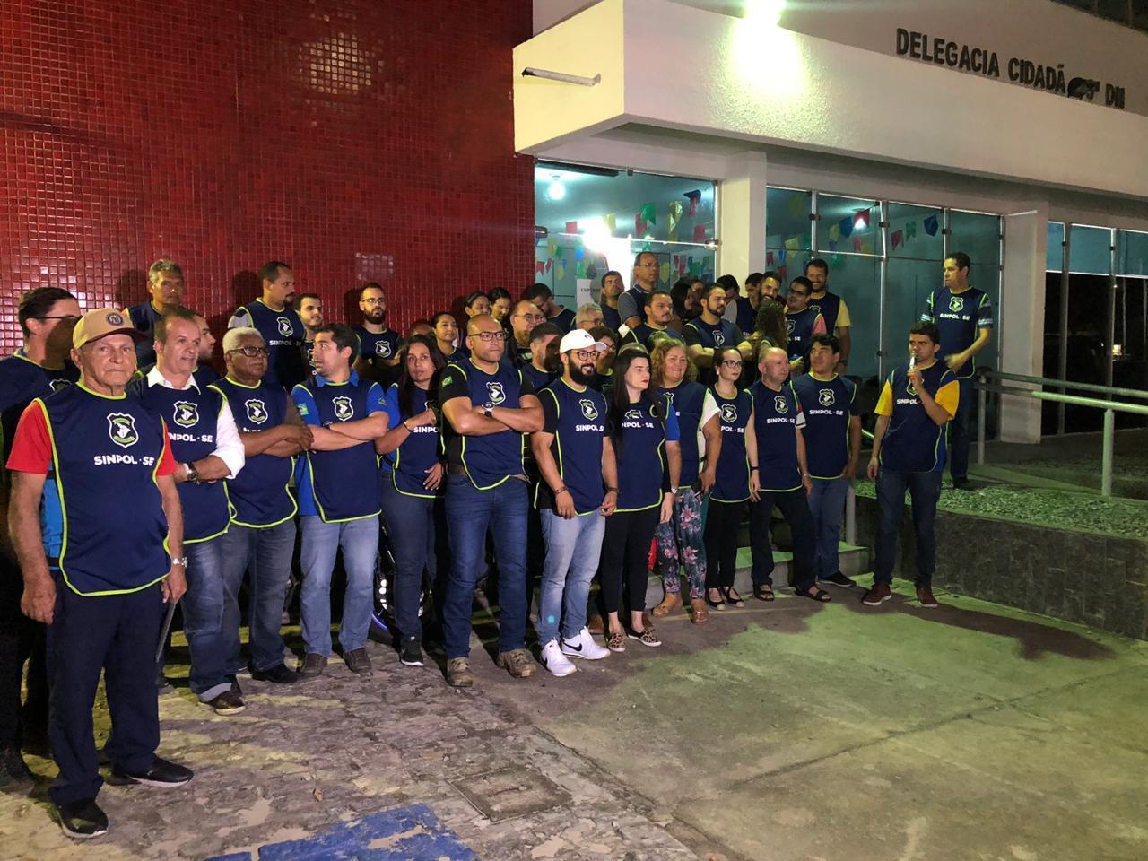 SERGIPE: POLÍCIA CIVIL PODE PARALISAR SUAS ATIVIDADES