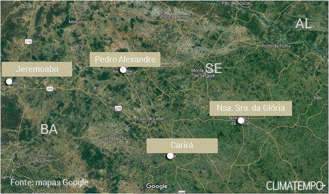 TEMPO: CHOVEU MUITO NA REGIÃO DE PEDRO ALEXANDRE (BA) NOS ÚLTIMOS DIAS
