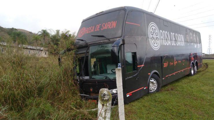 ROSA DE SARON: ÔNIBUS DA BANDA ATROPELA E MATA ROMEIRO
