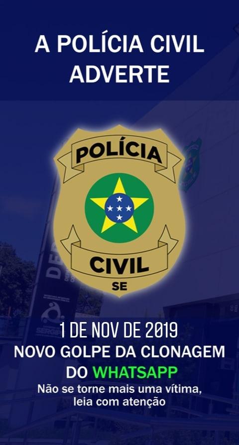 SIMÃO DIAS: POLÍCIA CIVIL ALERTA POPULAÇÃO CONTRA GOLPES NAS REDES SOCIAIS