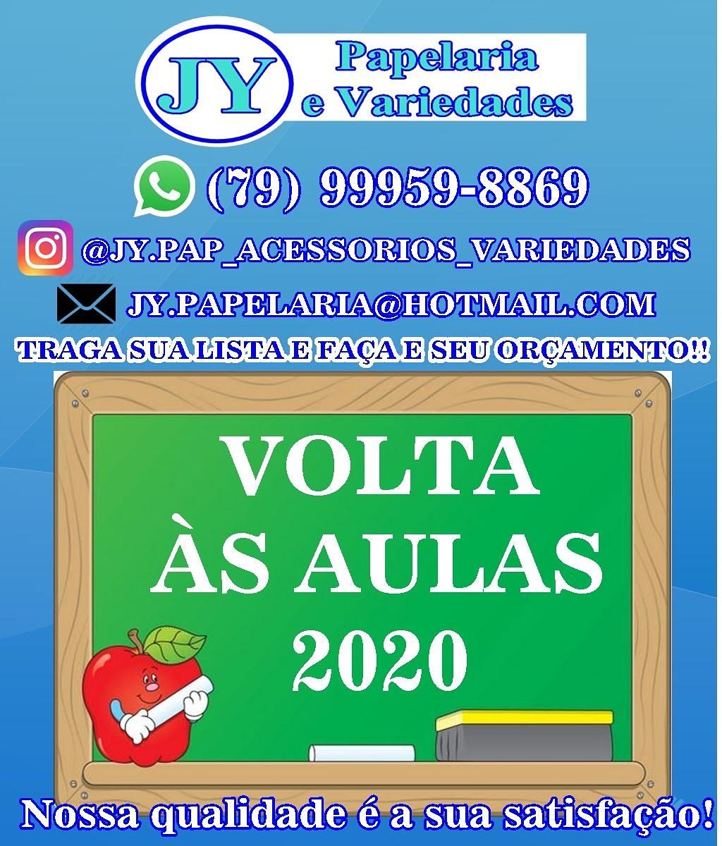 PROMOÇÃO VOLTA ÀS AULAS NA JY PAPELARIA
