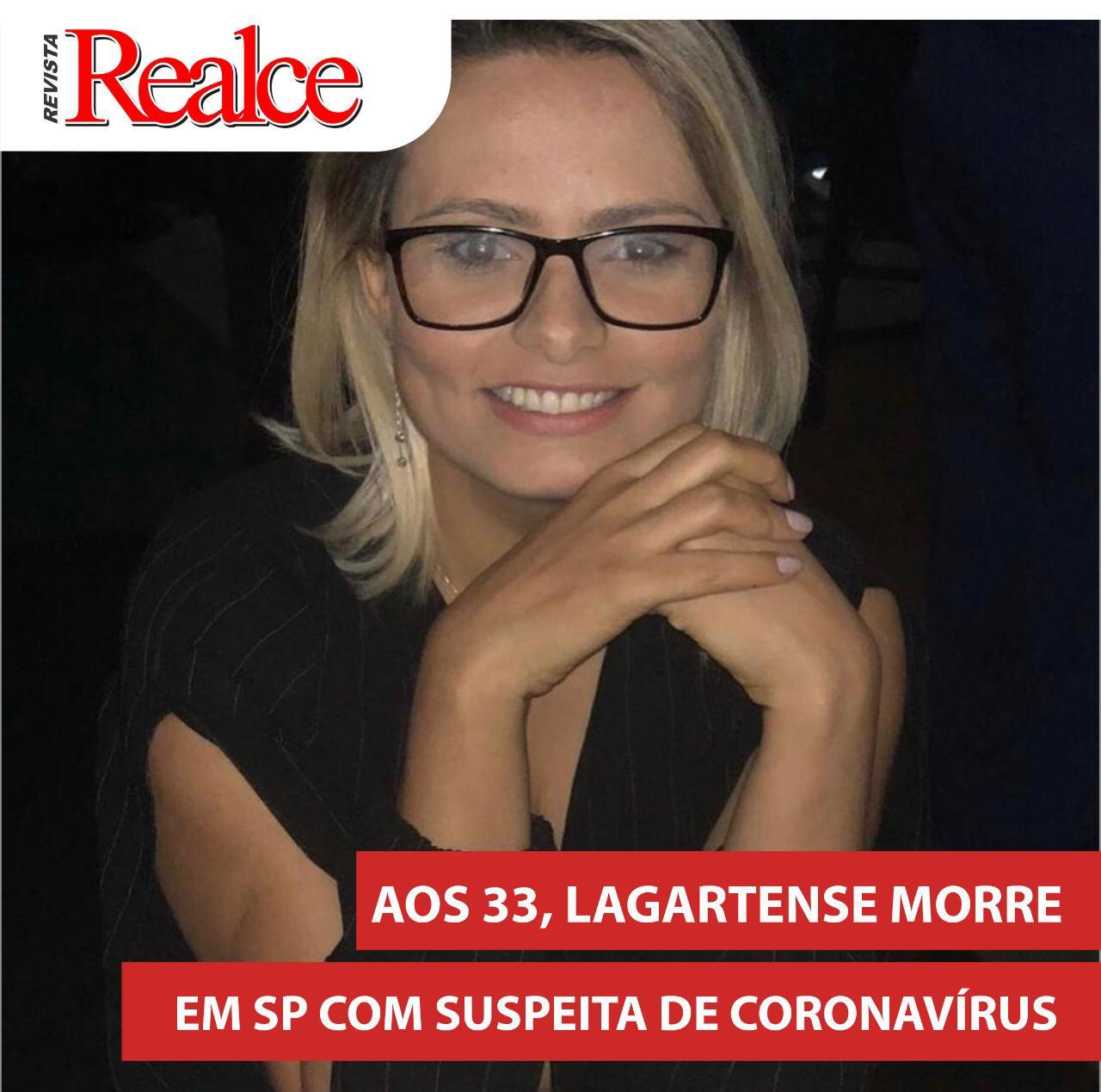 CORONAVÍRUS: LAGARTENSE MORRE EM SÃO PAULO
