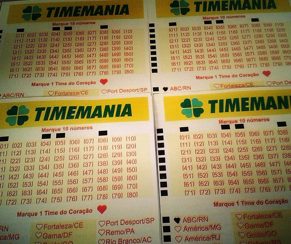 """TIMEMANIA: CONFIRA O RANKING DO """"TIME DO CORAÇÃO"""""""