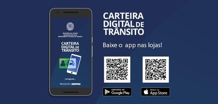 MULTAS: MOTORISTAS VÃO PODER PAGAR PELO APLICATIVO DA CARTEIRA DIGITAL DE TRÂNSITO