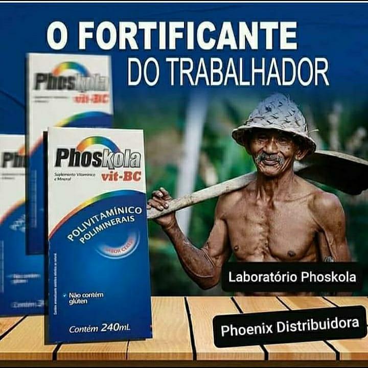 PHOSKOLA! O FORTIFICANTE DO TRABALHADOR