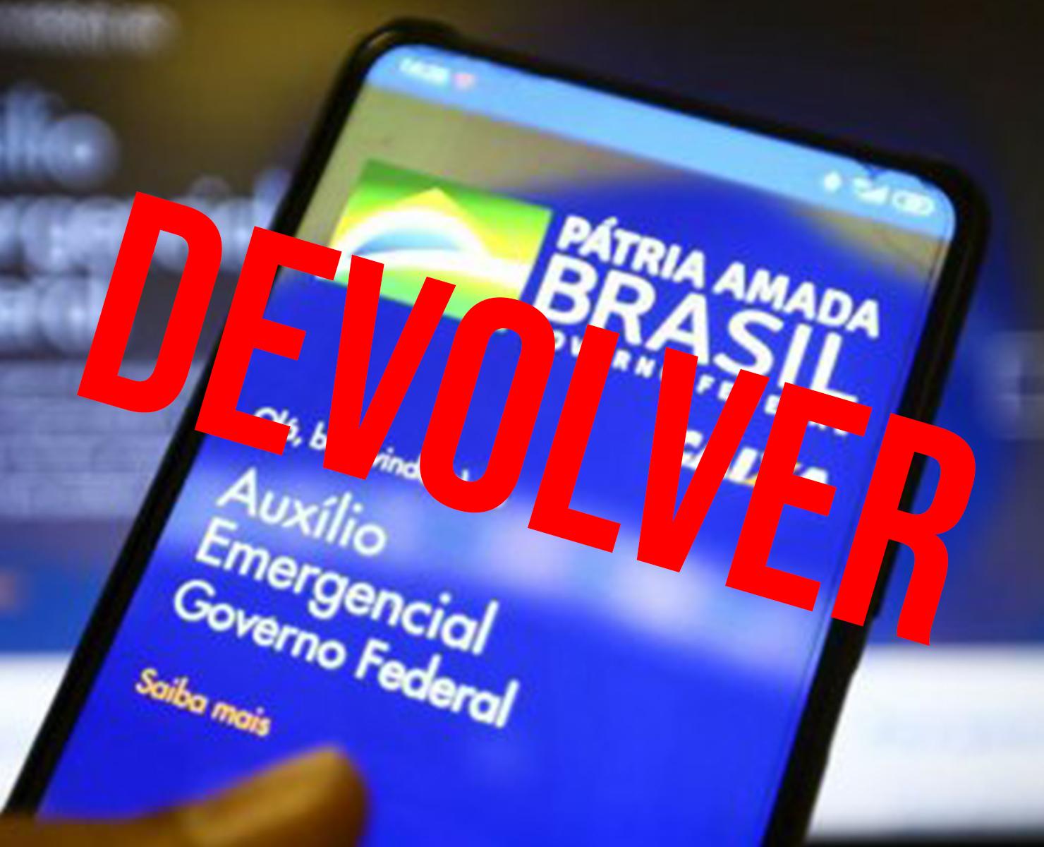 AUXÍLIO EMERGENCIAL: GOVERNO VAI MANDAR MENSAGEM PELO CELULAR COBRANDO VALOR DE VOLTA