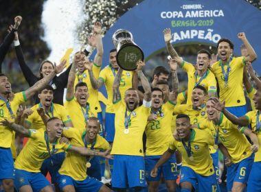 FUTEBOL: CONMEBOL DIVULGA TABELA DA COPA AMÉRICA 2021