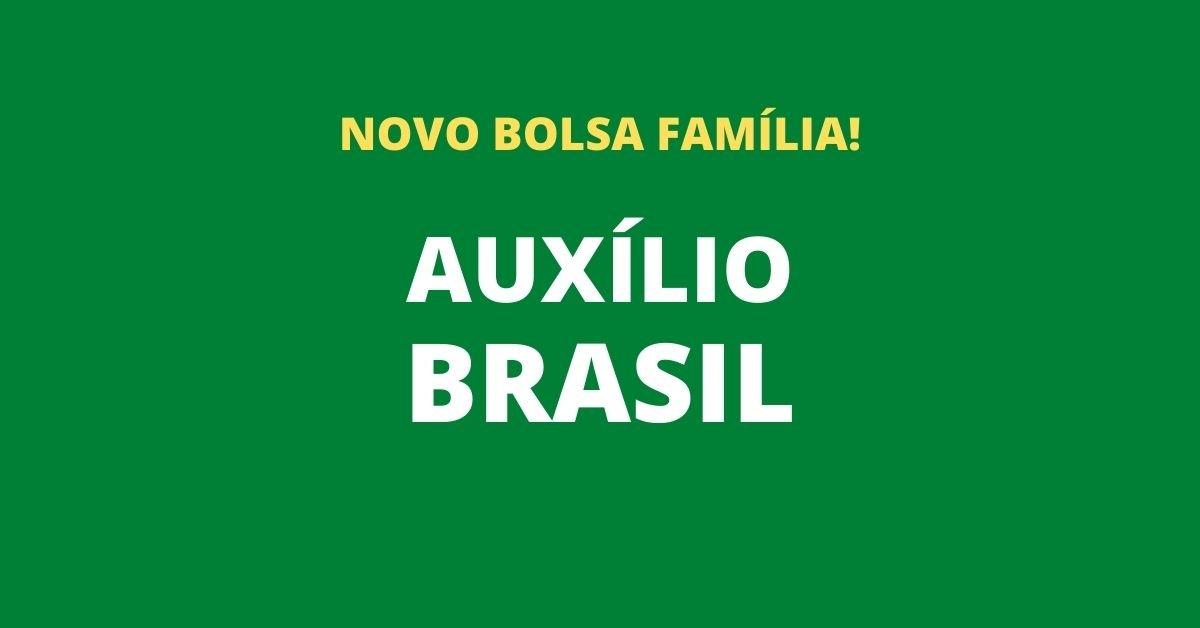 AUXÍLIO BRASIL: VEJA QUEM TERÁ DIREITO